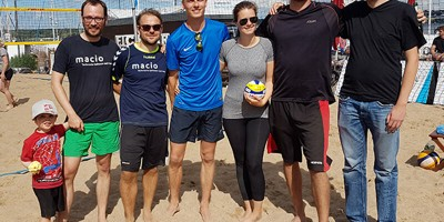 Beachvolleyball Firmencup macio
