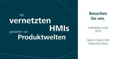 embedded world 2019 HMIs