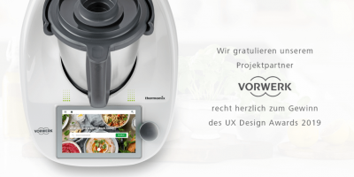 Vorwerk Thermomix German UX Design Award
